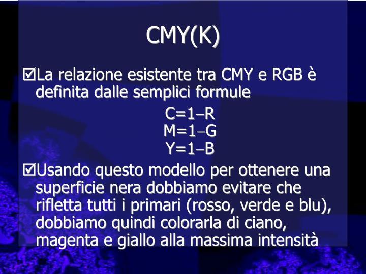 CMY(K)