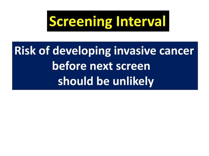 Screening Interval