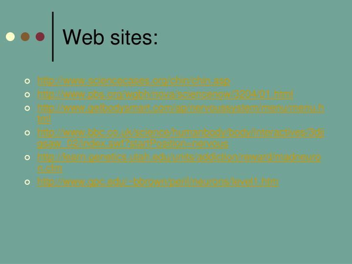 Web sites: