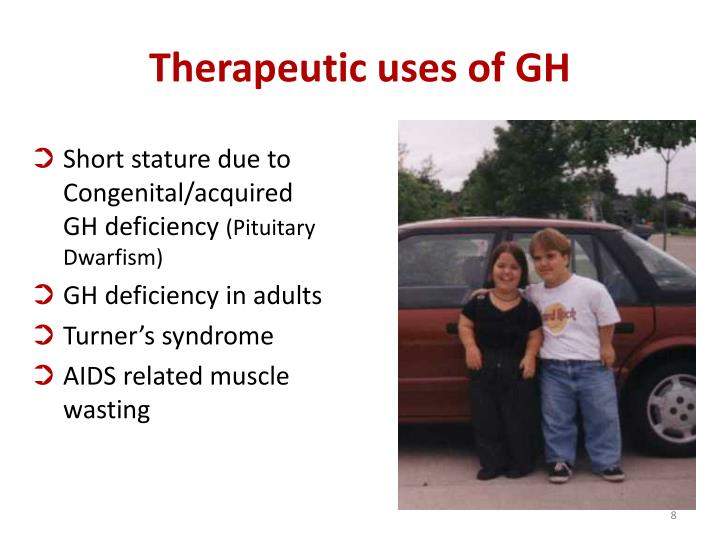 Short stature due to Congenital/acquired GH deficiency
