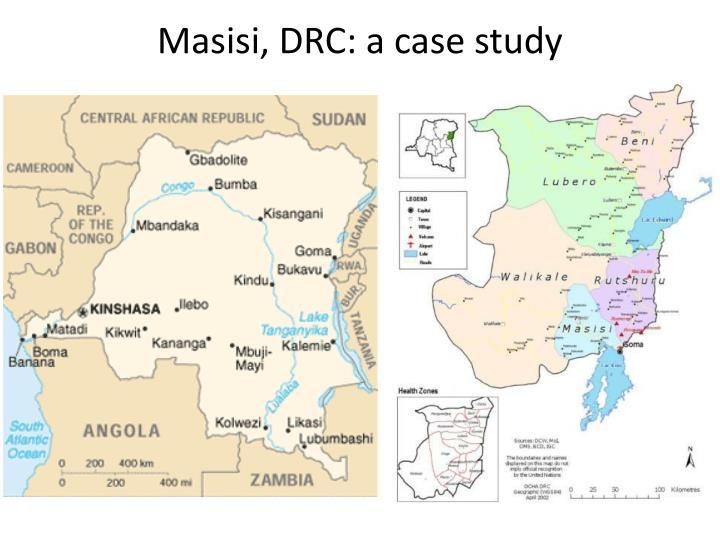 Masisi, DRC: a case study