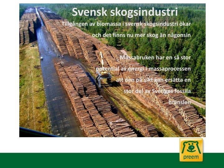 Svensk skogsindustri