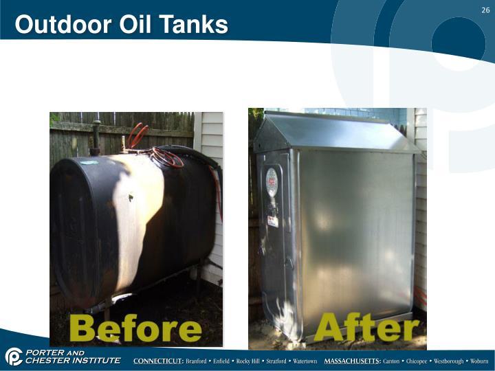 Outdoor Oil Tanks