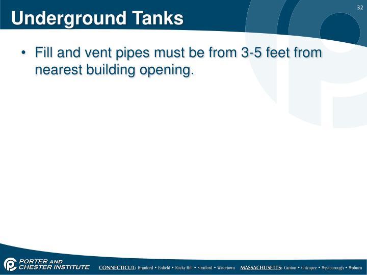 Underground Tanks