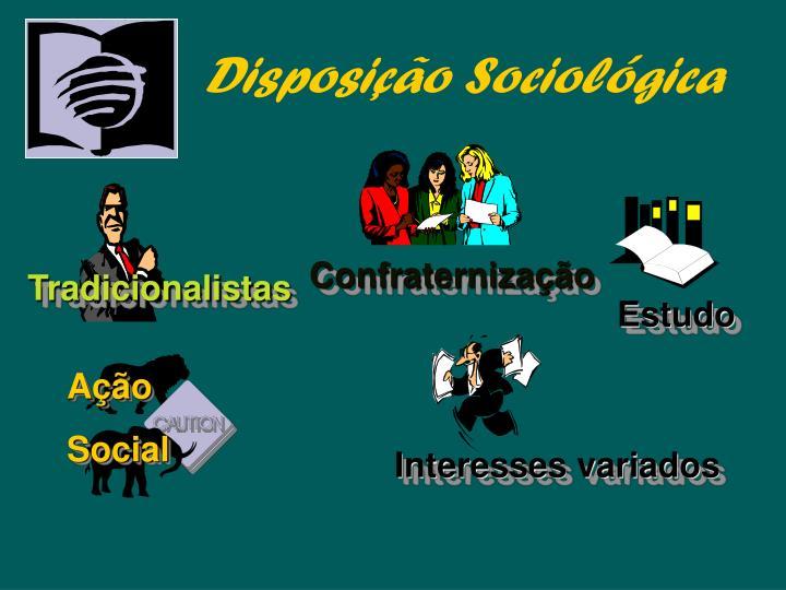 Disposição Sociológica