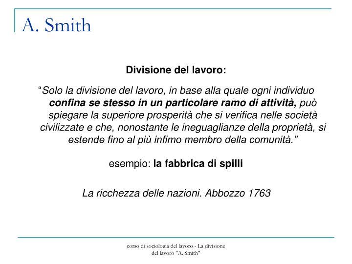 A. Smith