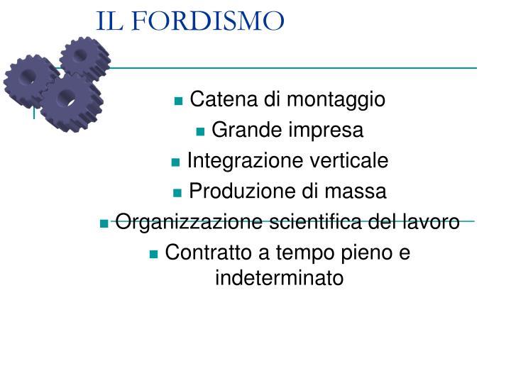 IL FORDISMO