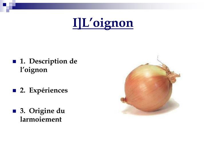 I]L'oignon