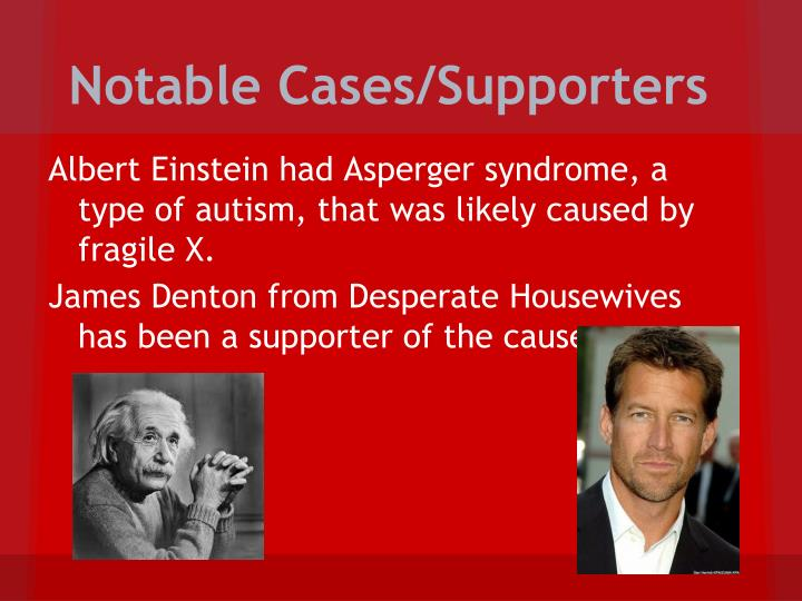 Notable Cases/Supporters