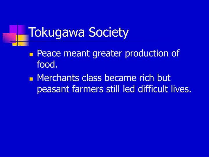 Tokugawa Society