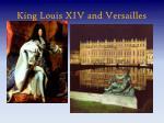 king louis xiv and versailles