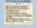 ottoman empire 1281 1914