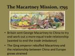the macartney mission 1793