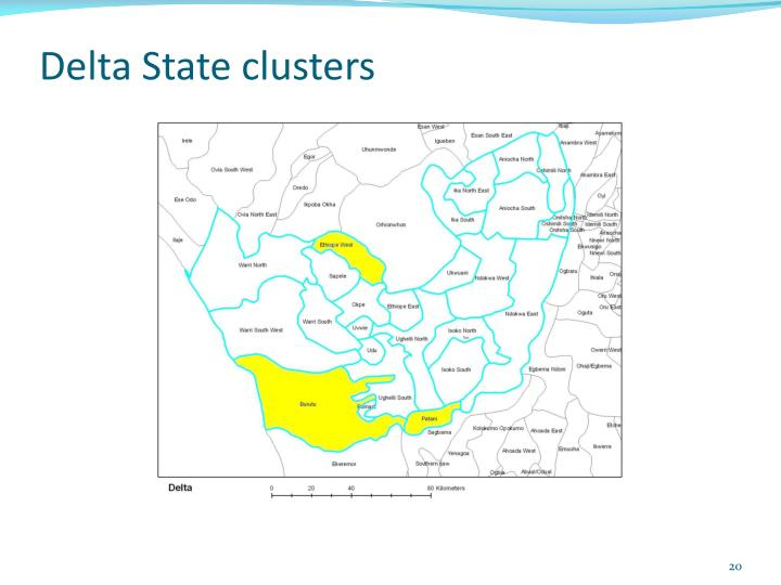 Delta State clusters