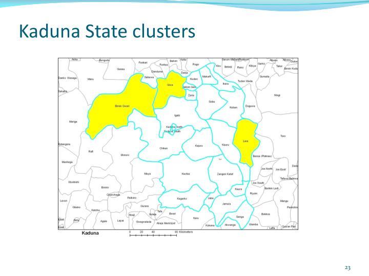 Kaduna State clusters