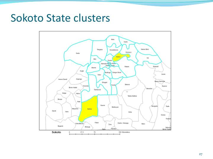 Sokoto State clusters
