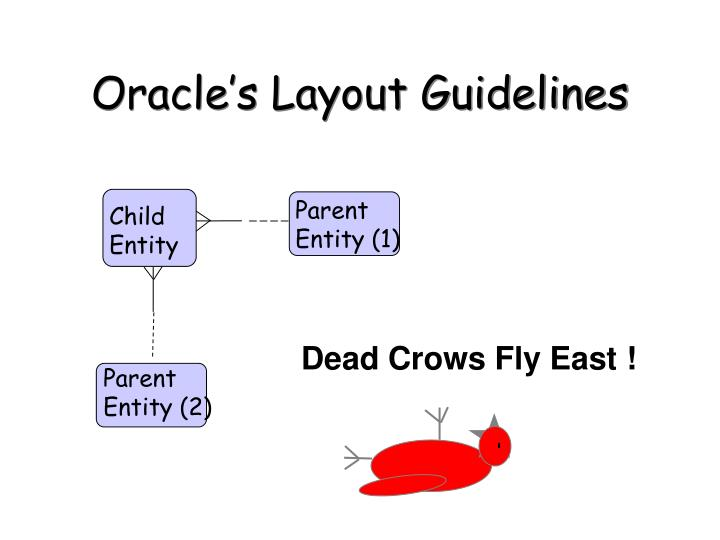 Oracle's Layout Guidelines