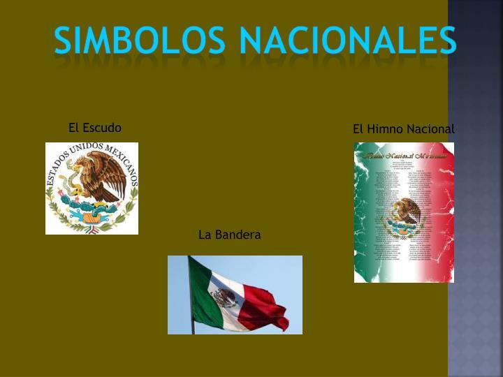 SIMBOLOS NACIONALES