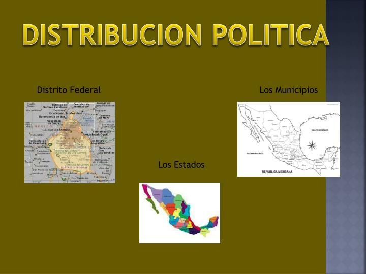 DISTRIBUCION POLITICA