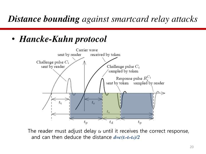 Distance bounding