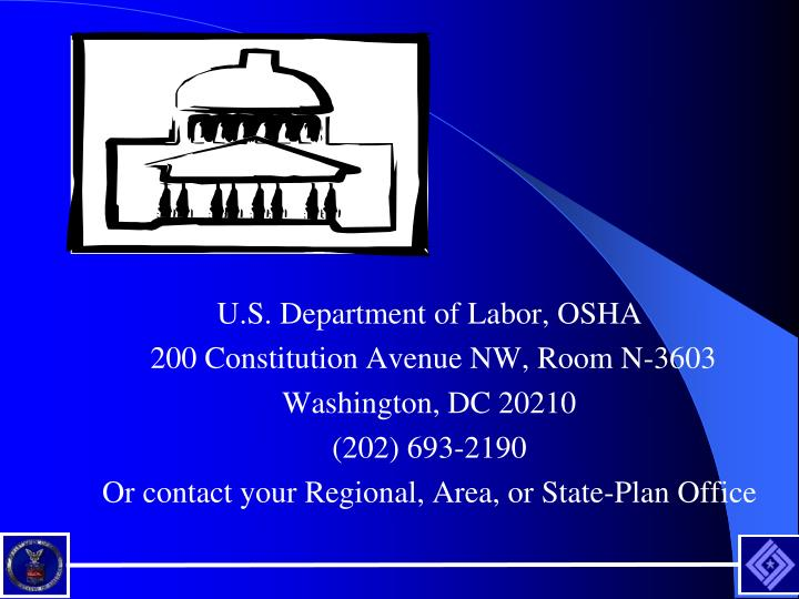 U.S. Department of Labor, OSHA