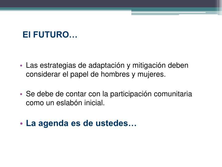 El FUTURO…