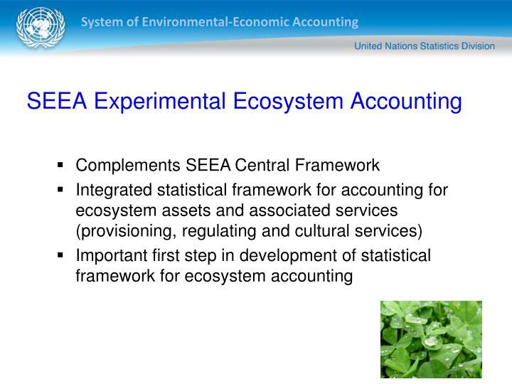 SEEA Experimental Ecosystem Accounting