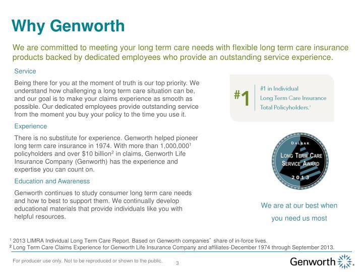Why Genworth