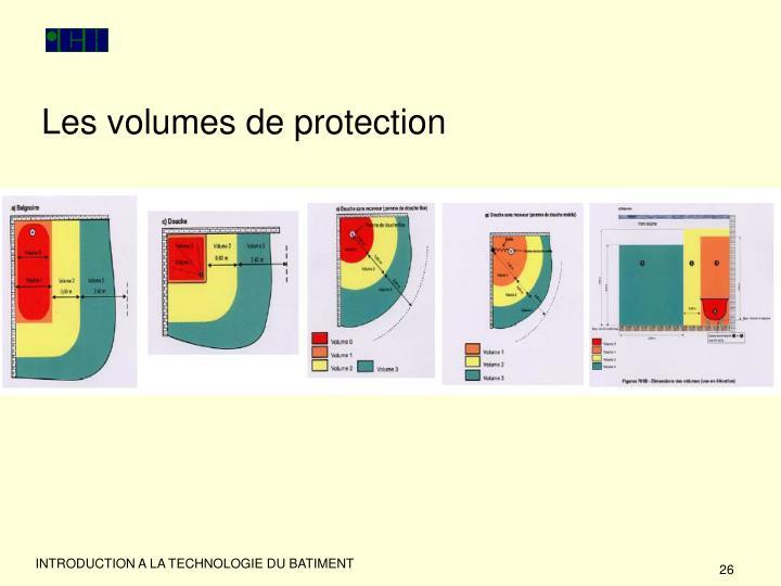 Les volumes de protection