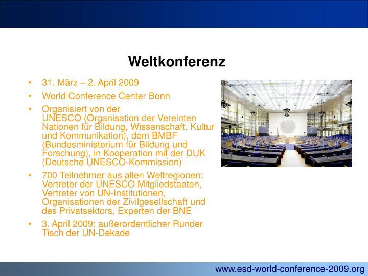 Weltkonferenz