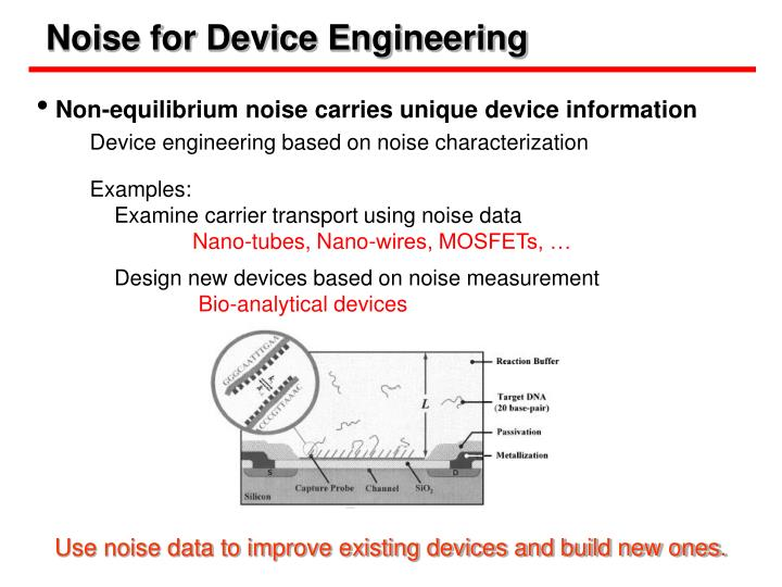 Noise for Device Engineering