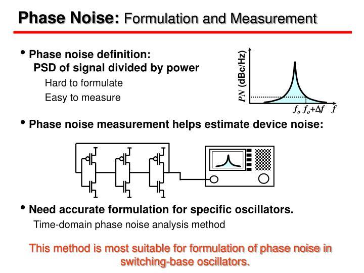 Phase Noise: