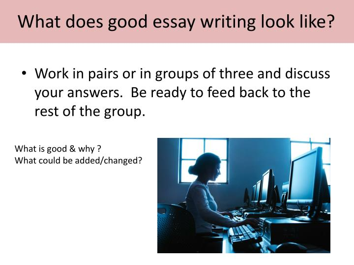 does discuss mean essay writing