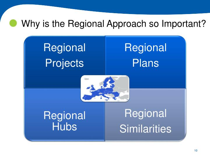 Why is the Regional Approach so Important?