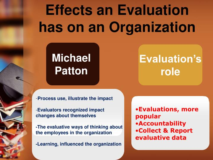 Effects an Evaluation has on an Organization