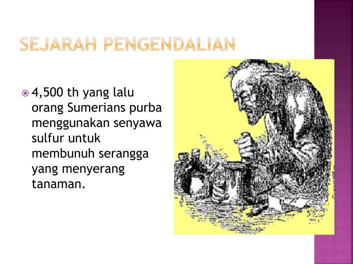 SEJARAH PENGENDALIAN