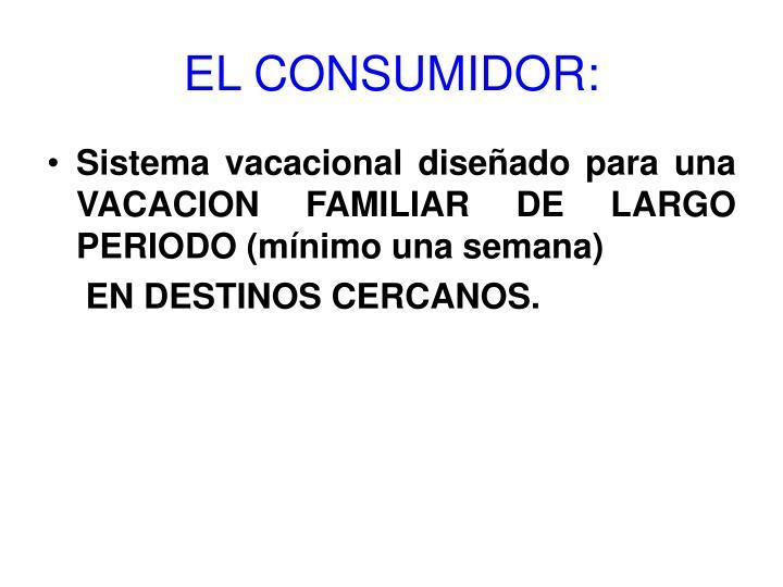 EL CONSUMIDOR: