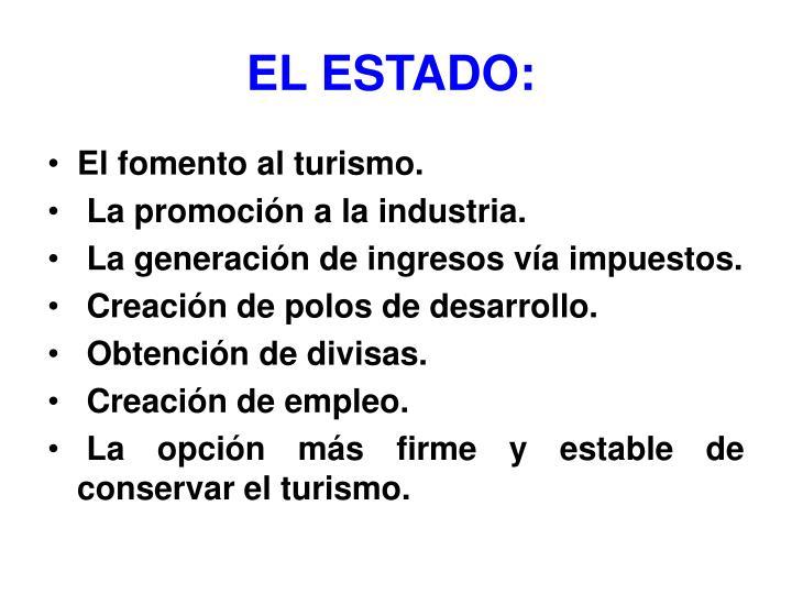 EL ESTADO: