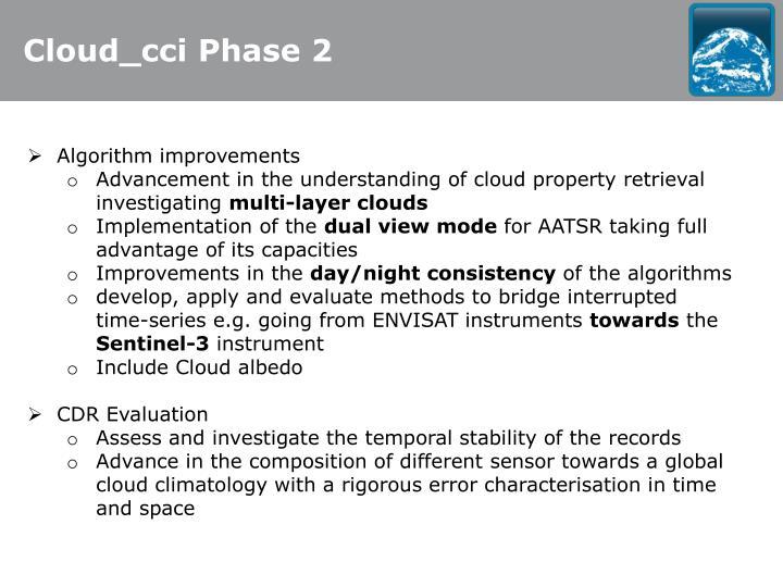 Cloud_cci Phase 2