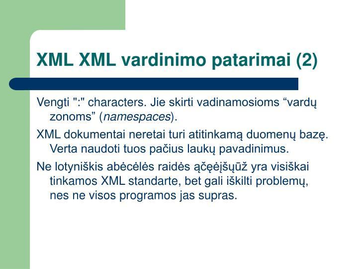 XML XML
