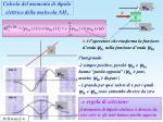 calcolo del momento di dipolo elettrico della molecola nh 3