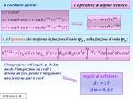 l operatore di dipolo elettrico1
