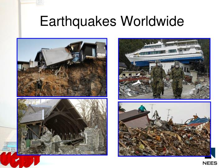 Earthquakes worldwide