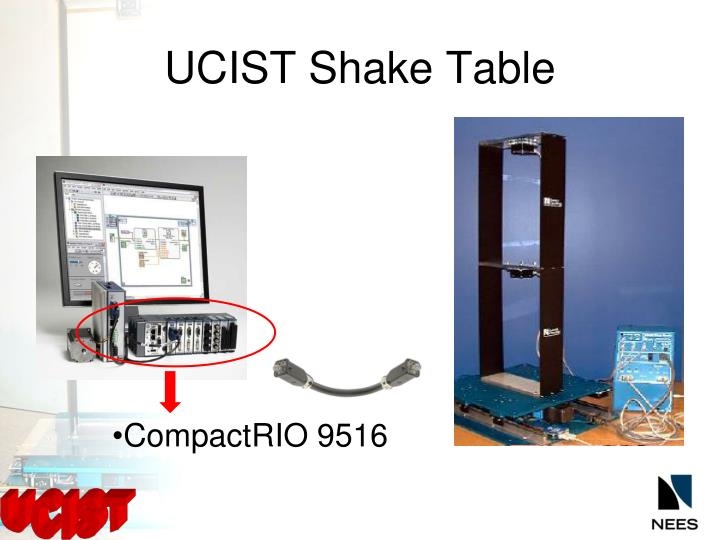 UCIST Shake Table