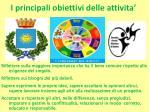 i principali obiettivi delle attivita1
