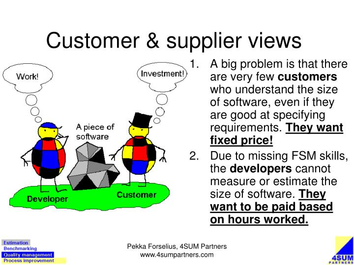 Customer supplier views