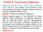 agra community objective13