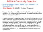 agra community objective15