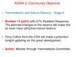 agra community objective17