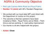 agra community objective18